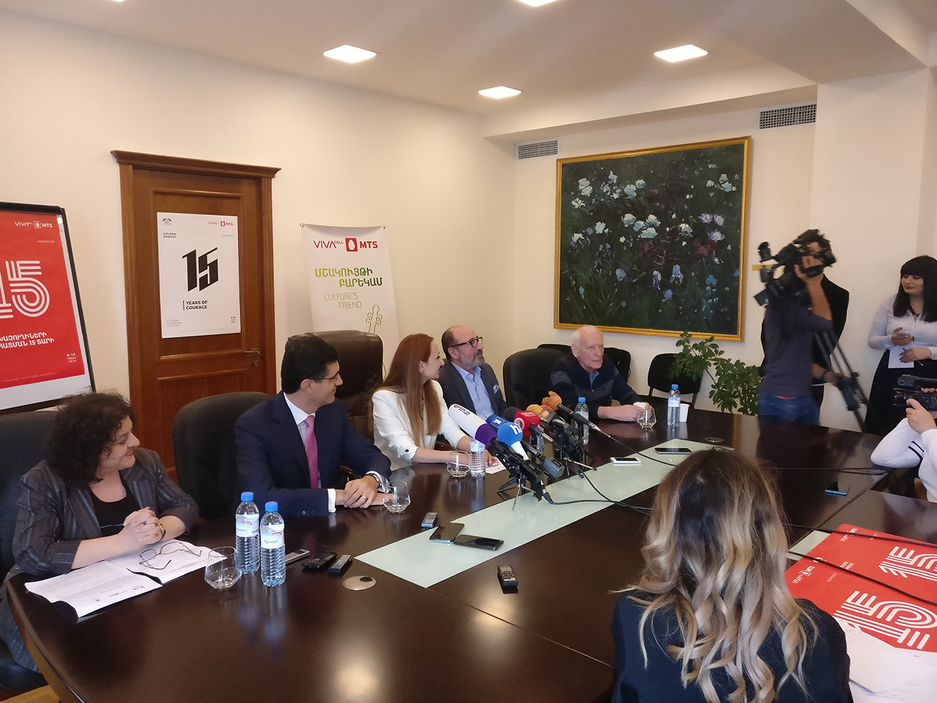 15th Golden Apricot Yerevan  IFF kicks off in Yerevan