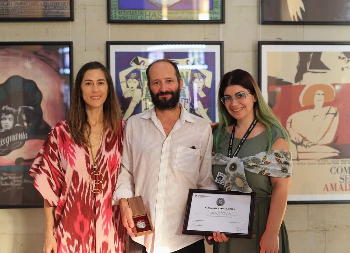 Carlos Reygadas was awarded with Parajanov taller: day 4