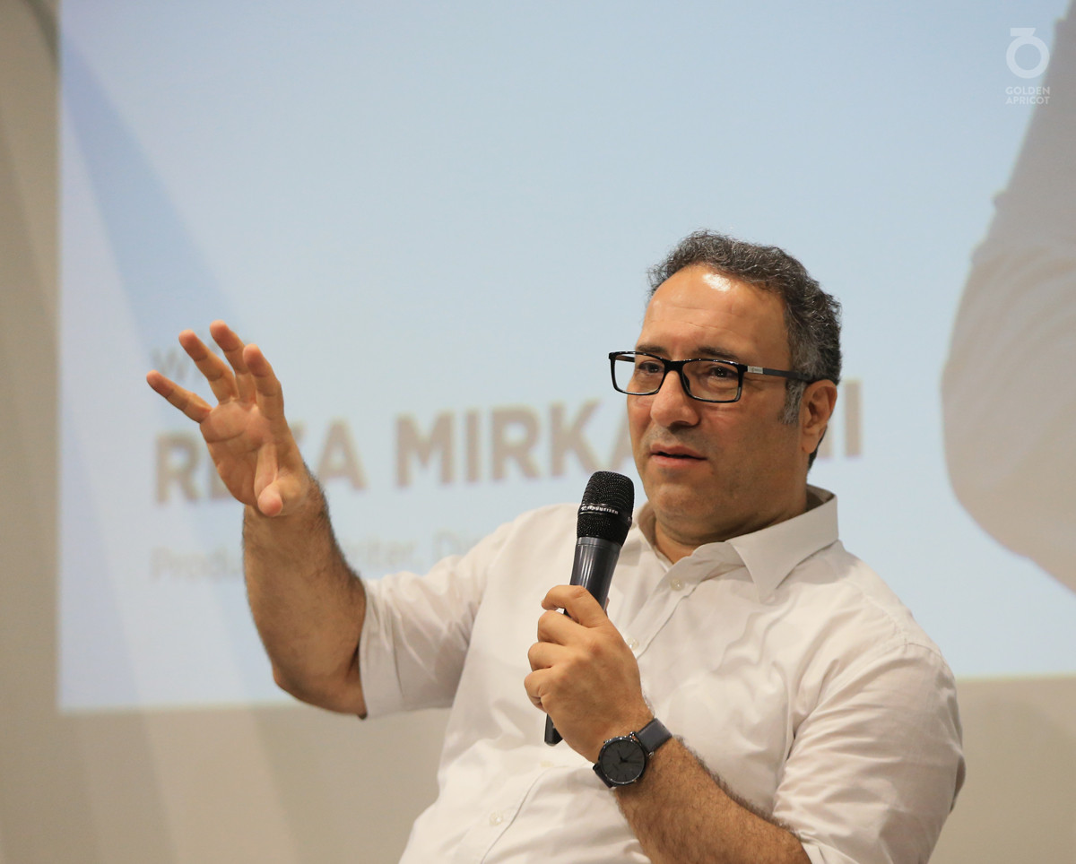 Rendezvous at AGBU with Reza Mirkarimi
