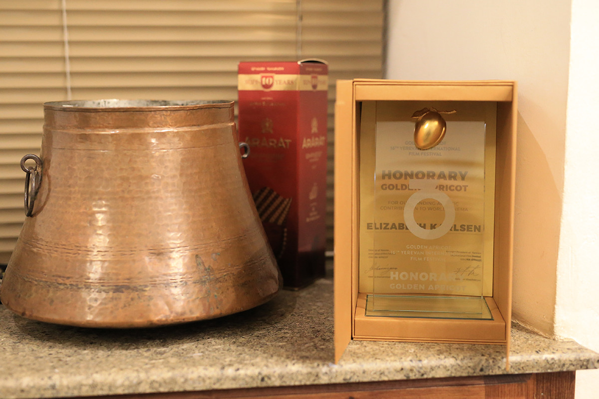 HONORARY GOLDEN APRICOT for Elizabeth Karlsen