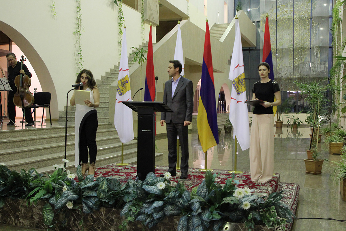 Reception at Yerevan Municipality